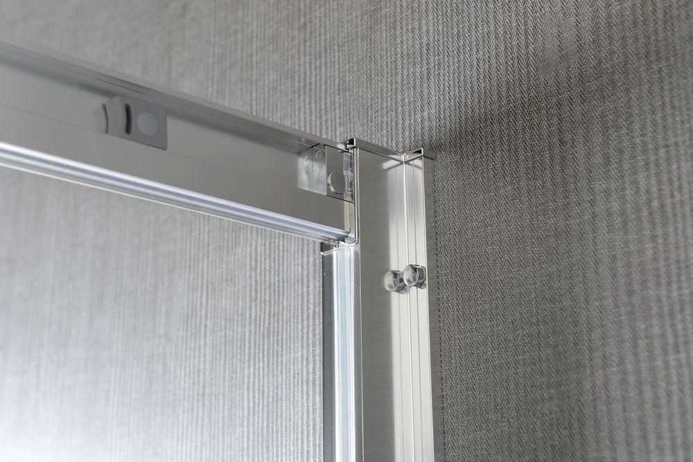 GELCO - AKCE čtvrtkruhová sprchová zástěna 900x900x1900mm, čiré sklo (AG4290)