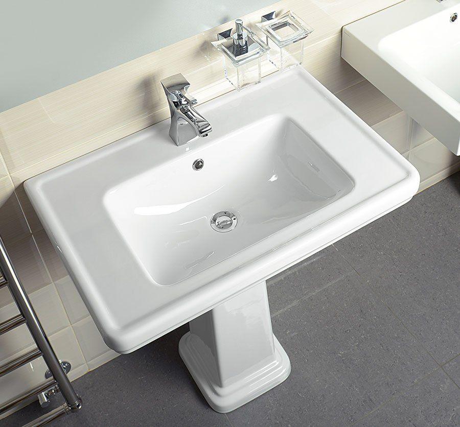 GSI - CLASSIC keramické umyvadlo 60x46 cm, bílá ExtraGlaze (8731111)