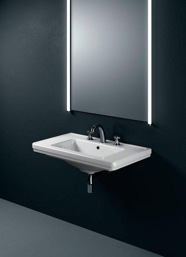 GSI - CLASSIC keramické umyvadlo 90x50 cm, bílá ExtraGlaze (8788111)