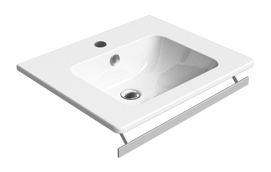GSI - PURA keramické umyvadlo 60x50 cm, bílá ExtraGlaze (8831111)