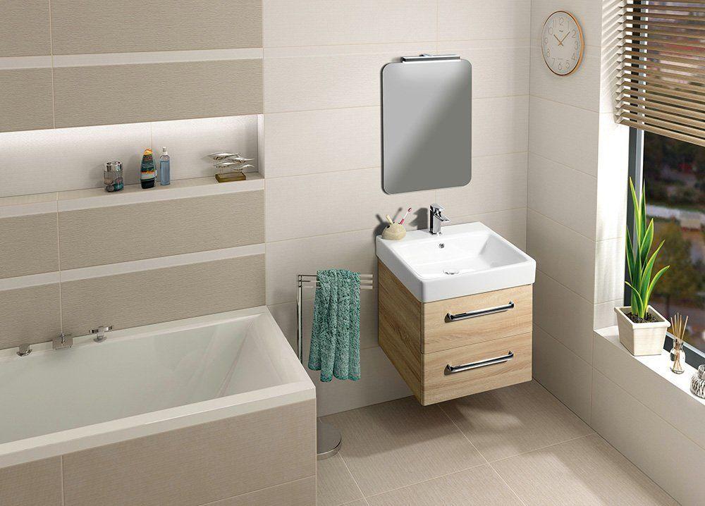 GSI - SAND keramické umyvadlo 60x50 cm, bílá ExtraGlaze (9031111)