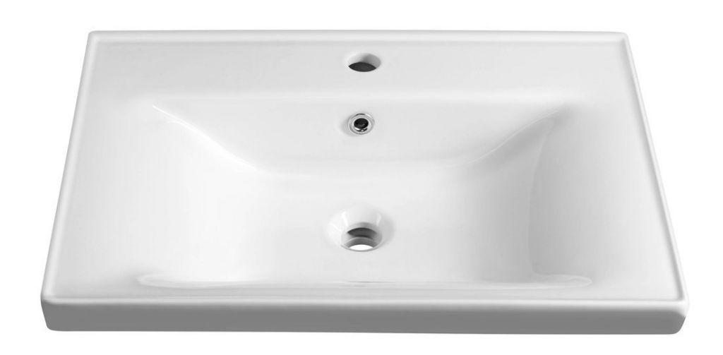 AQUALINE - SAVA 65 nábytkové umyvadlo 65x46x16,5 cm (2065)