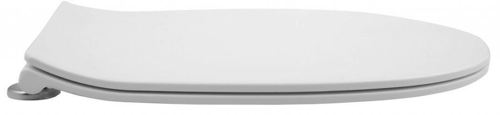 ISVEA - WC sedátko SLIM, soft close, easy take, duroplast, bílá (Sentimenti, Soluzione) (40D40200I)