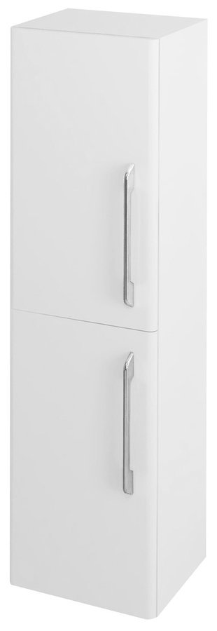 SAPHO PURA skříňka vysoká 35x140x30cm, 2x dvířka, levá/pravá, bílá PR032LP