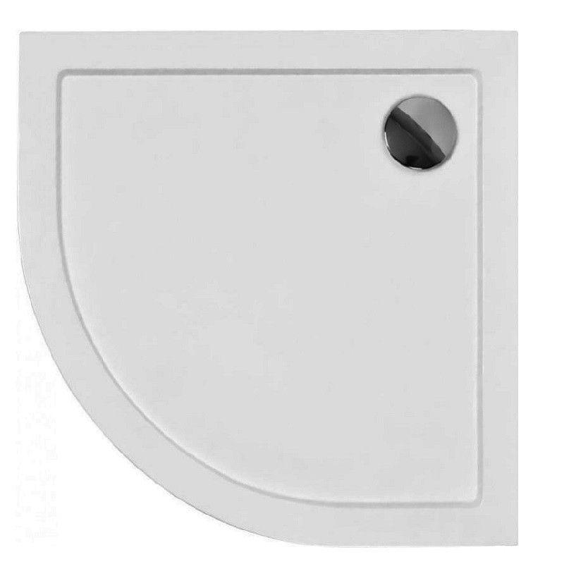 HOPA Čtvrtkruhová sprchová vanička ARON Rozměr A 80 cm, Rozměr B 80 cm OLBVANACARO80