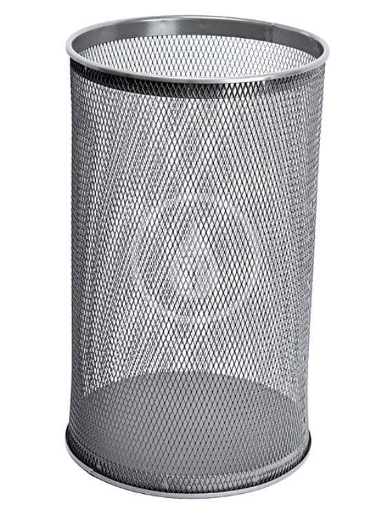 SANELA Drátěné koše Odpadkový koš, 32 l, šedá SLZN 98B
