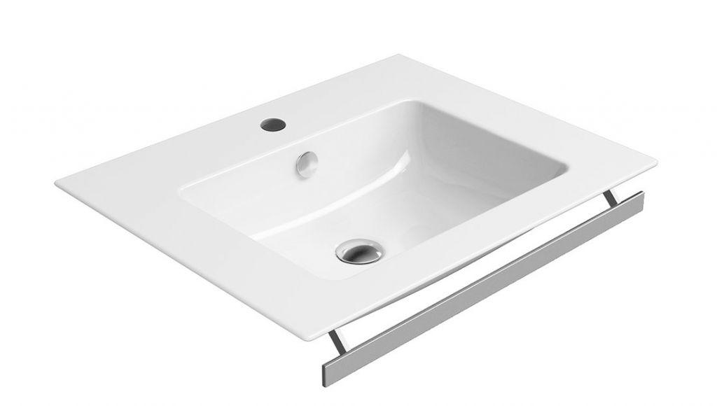 GSI - PURA keramické umyvadlo Slim 60x50 cm, bílá ExtraGlaze (8836111)
