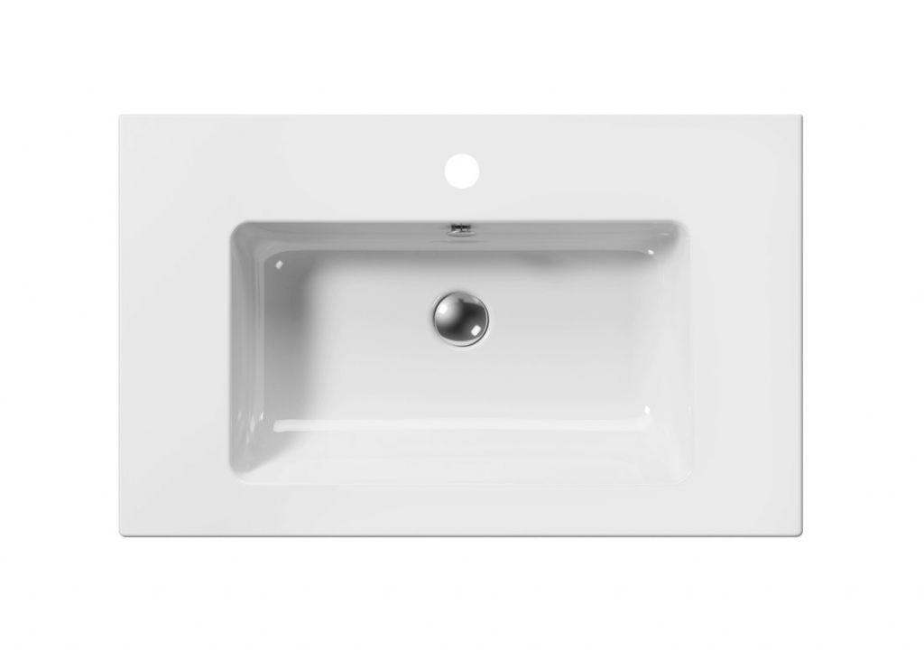 GSI - PURA keramické umyvadlo Slim 80x50 cm, bílá ExtraGlaze (8843111)