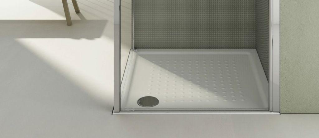 GSI - Keramická sprchová vanička, čtverec 80x80x4,5 cm (438411)