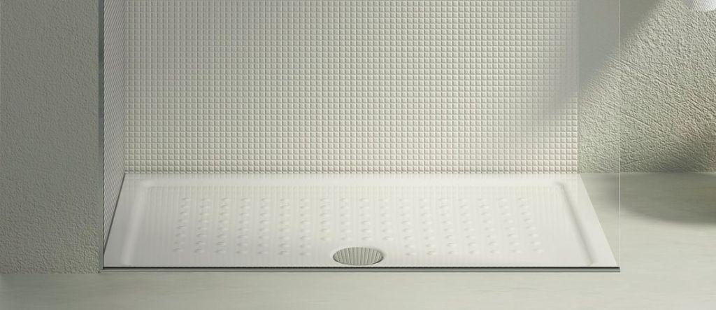 GSI - Keramická sprchová vanička, obdélník 120x80x4,5 cm (439811)