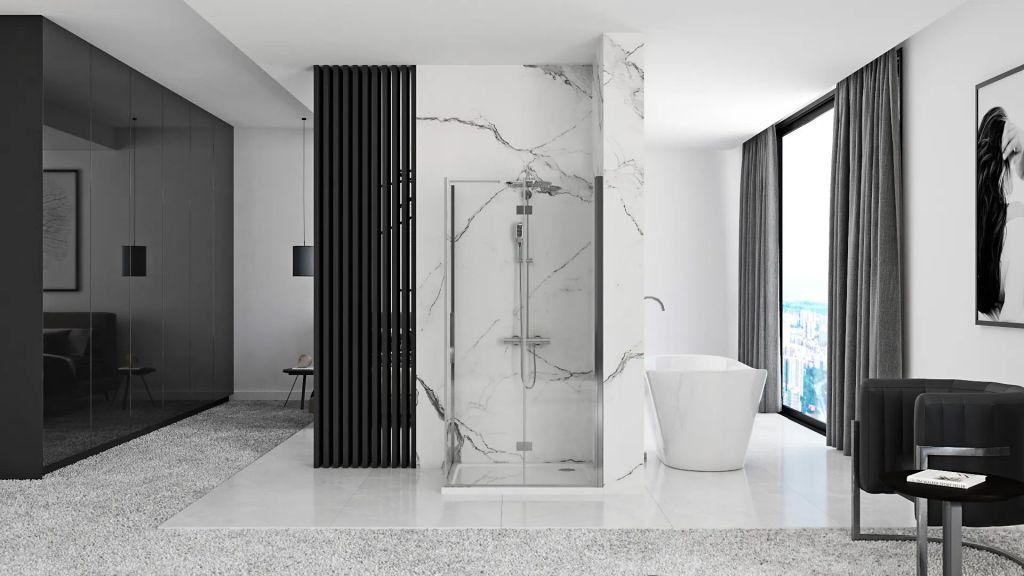 REA/S - Sprchový kout MOLIER dveře/stěna 90X90 (MOLDS090090)