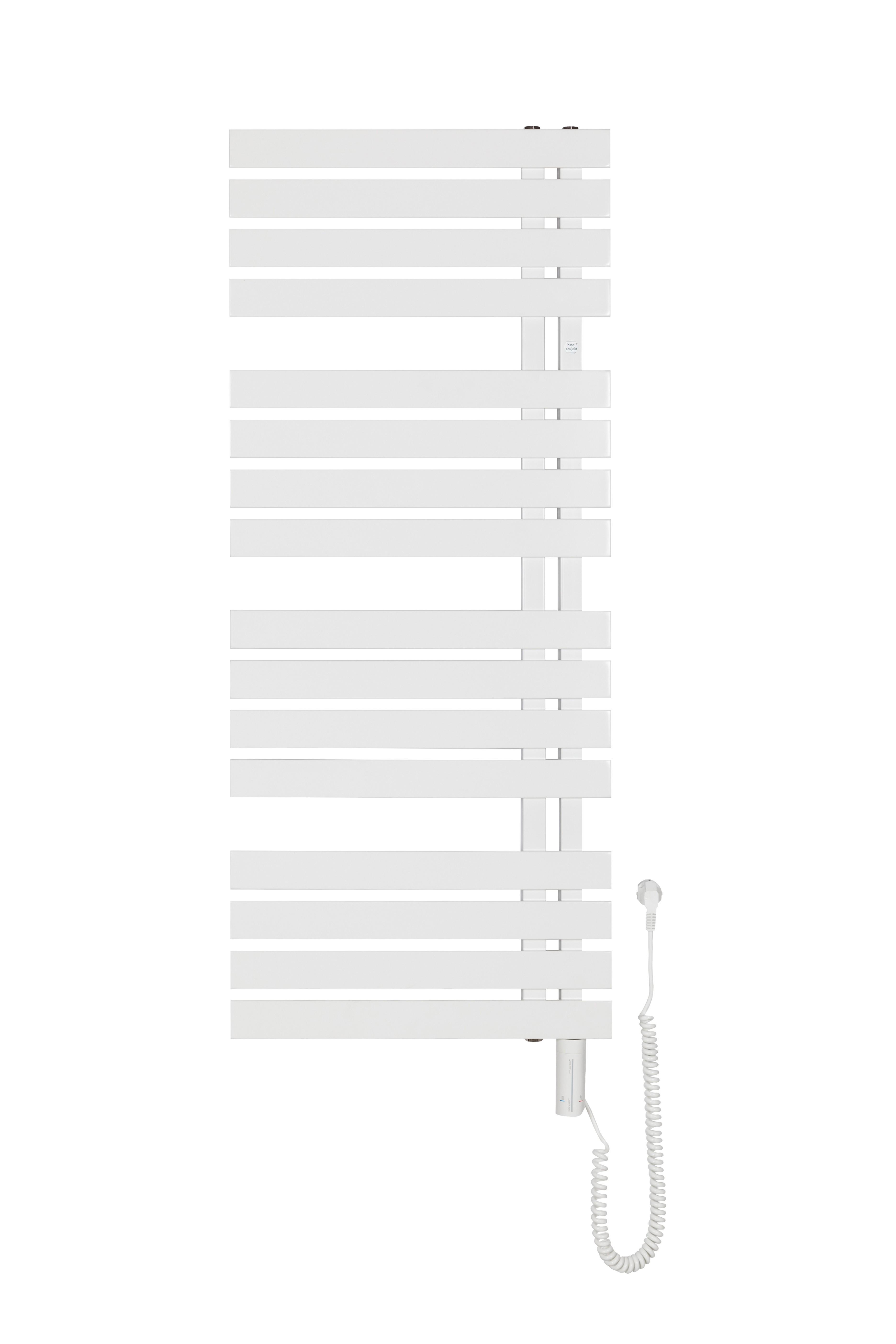 HOPA Koupelnový elektrický radiátor sušák POP STAR ELECTRO Barva radiátoru Bílá, Rozměr radiátoru HL 500 × 980 mm, výkon 300 W RADPOPEL509035