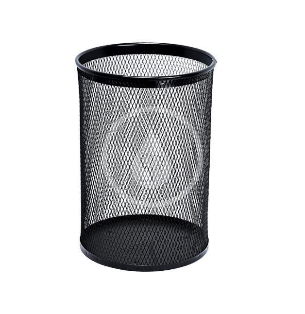 SANELA Drátěné koše Odpadkový koš, 13 l, černá SLZN 96E