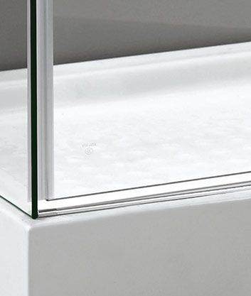 Aquatek - TEKNO R33 Chrom Luxusní sprchová zástěna obdélníková 120x90cm, sklo 8mm, výška 195 cm, varianta levá (TEKNOR33-103)
