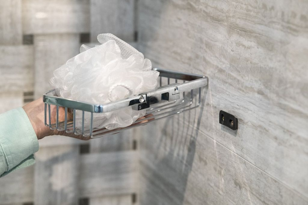 SAPHO - SMART drátěná polička do sprchy, chrom (72260)