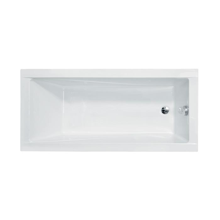 Akrylátová obdélníková vana Modern 150 (150x70x39 cm   objem: 149 l)   Besco MODERN150X70
