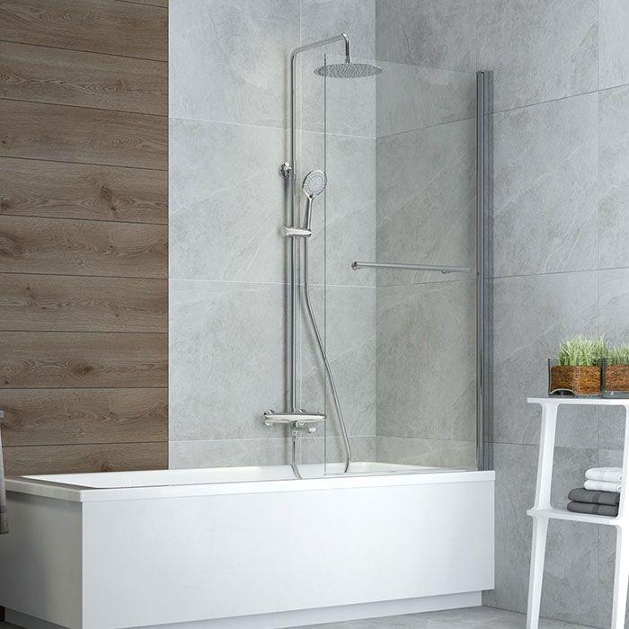 Sprchový komplet s termostatickou baterií Johanesburg 01GT | A-Interiéry (johanesburg_01gt)