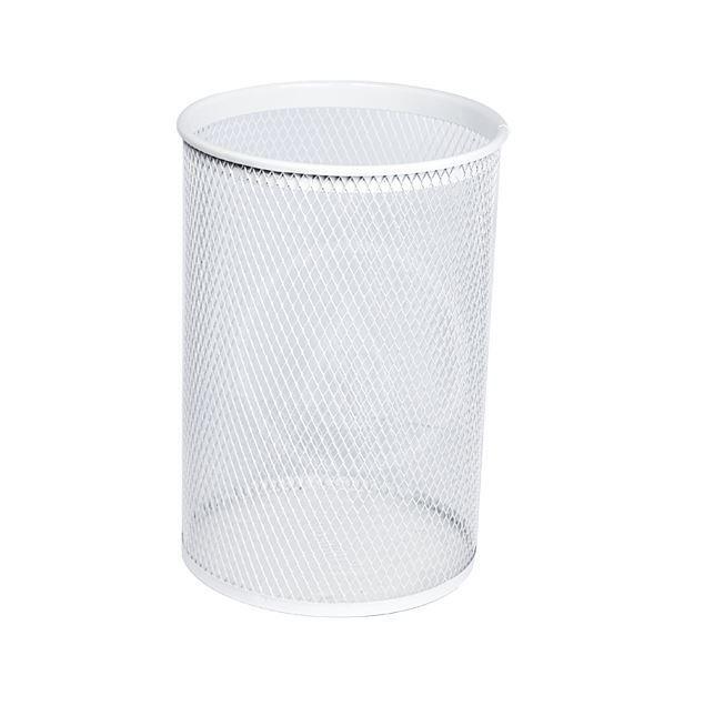SANELA Drátěné koše Odpadkový koš, 13 l, bílá SLZN 96A