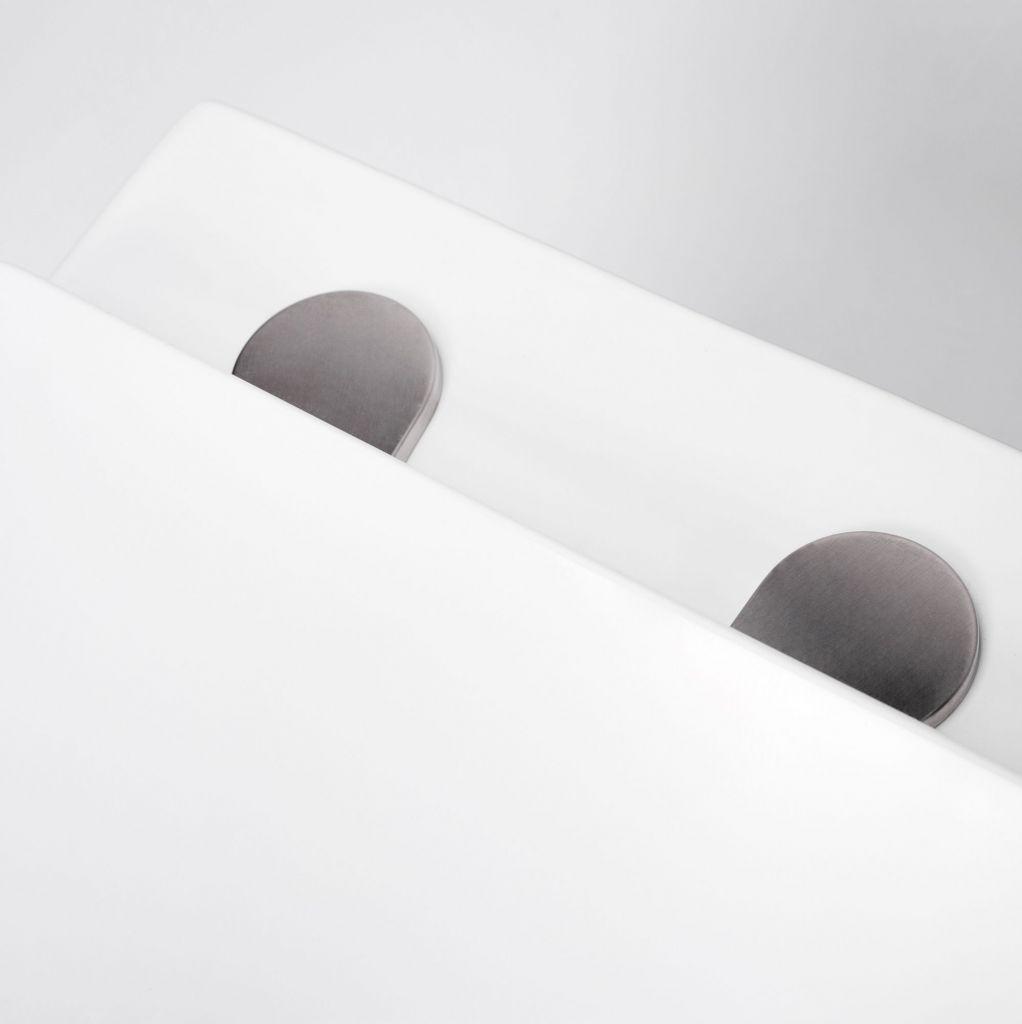 ALCAPLAST  Renovmodul - předstěnový instalační systém s bílým/ chrom tlačítkem M1720-1 + WC REA  Raul Rimless + SEDÁTKO (AM115/1000 M1720-1 RA1)