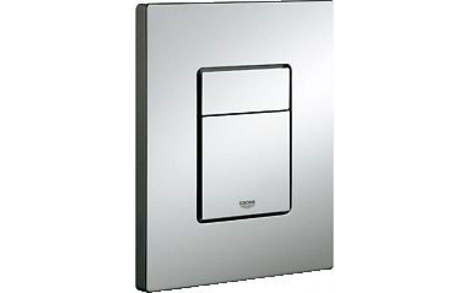 Rapid SL pro závěsné WC 38528SET s chromovou deskou + WC REA CARLO MINI RIMLESS ČIERNY MAT + SEDADLO (38772001 MM1)
