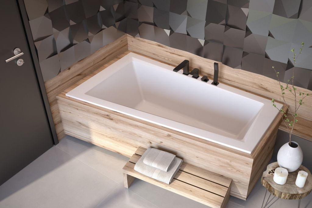 HOPA Asymetrická vana INTIMA SLIM Nožičky k vaně S nožičkami, Rozměr vany 150 × 85 cm, Způsob proved