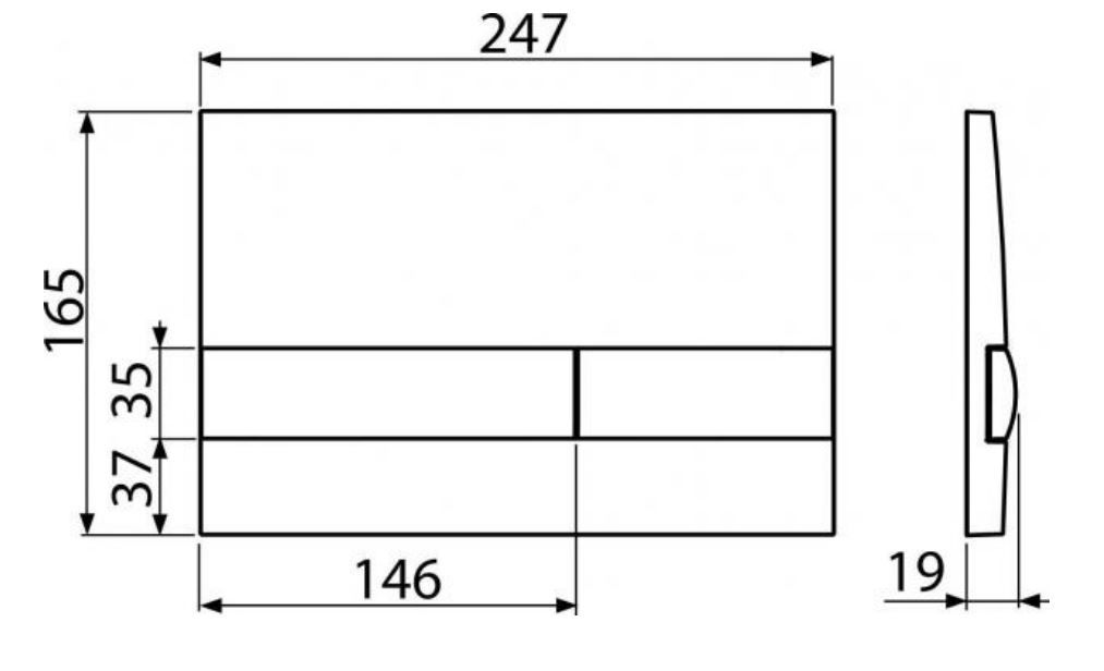 ALCAPLAST  Jádromodul - předstěnový instalační systém s bílým tlačítkem M1710 + WC REA CARLO MINI RIMLESS ČIERNY MAT + SEDADLO (AM102/1120 M1710 MM1)