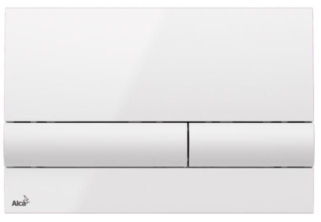 ALCAPLAST  Jádromodul - předstěnový instalační systém s bílým tlačítkem M1710 + WC REA Ivo Rimless + SEDÁTKO (AM102/1120 M1710 IV1)