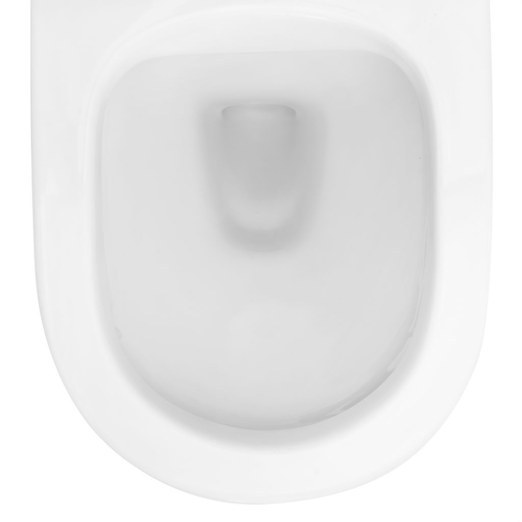 ALCAPLAST  Renovmodul - předstěnový instalační systém s bílým tlačítkem M1710 + WC REA Carlo Flat Mini Rimless + SEDÁTKO (AM115/1000 M1710 CF1)