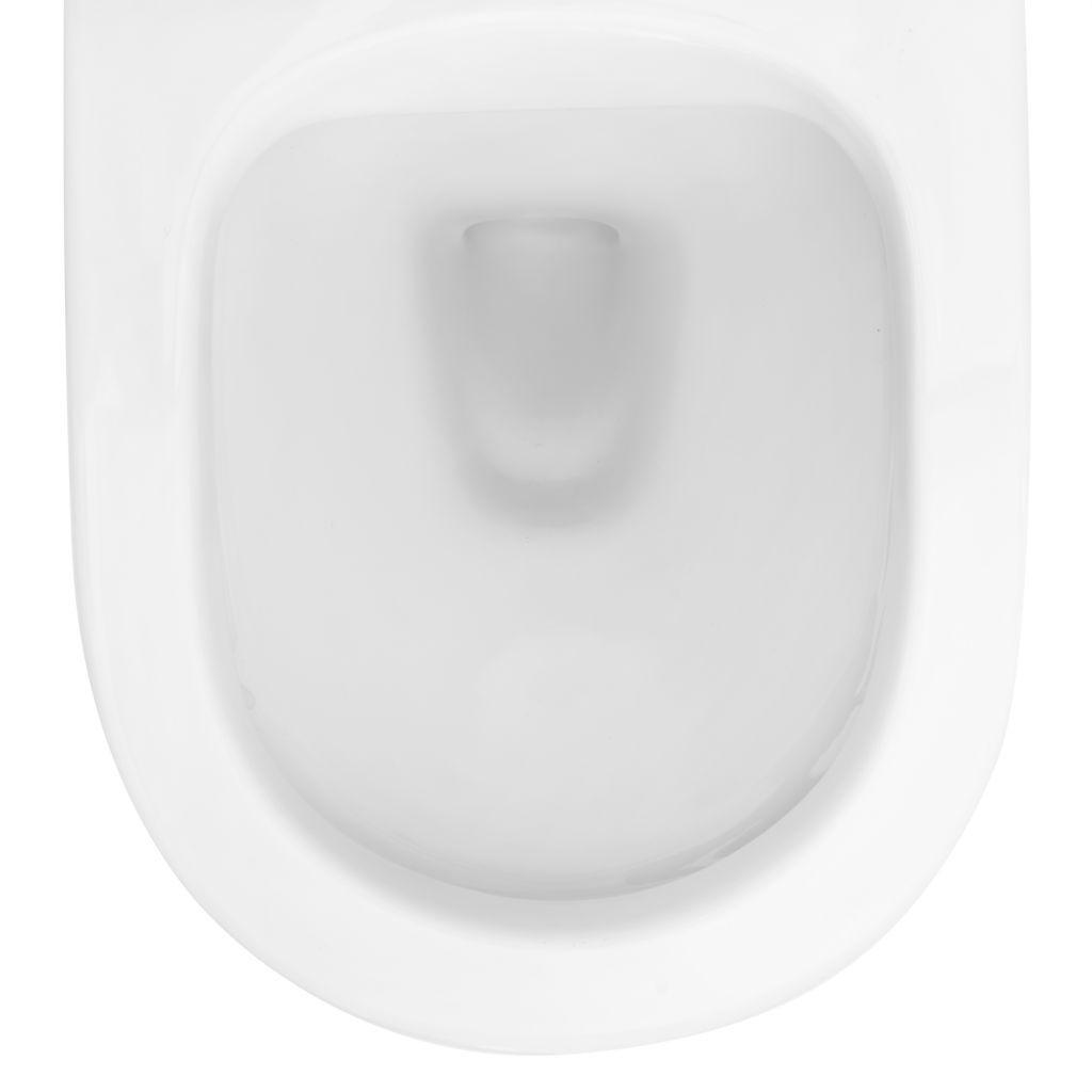 ALCAPLAST  Renovmodul - předstěnový instalační systém s bílým/ chrom tlačítkem M1720-1 + WC REA Carlo Flat Mini Rimless + SEDÁTKO (AM115/1000 M1720-1 CF1)
