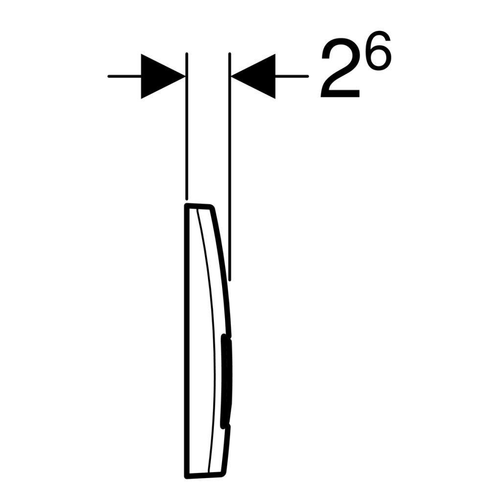 GEBERIT KOMBIFIXBasic vč. chromového tlačítka DELTA 51 + WC REA Tino Rimless + SEDÁTKO (110.100.00.1 51CR TR1)