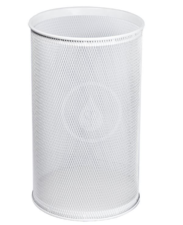 SANELA Drátěné koše Odpadkový koš, 32 l, bílá SLZN 98A