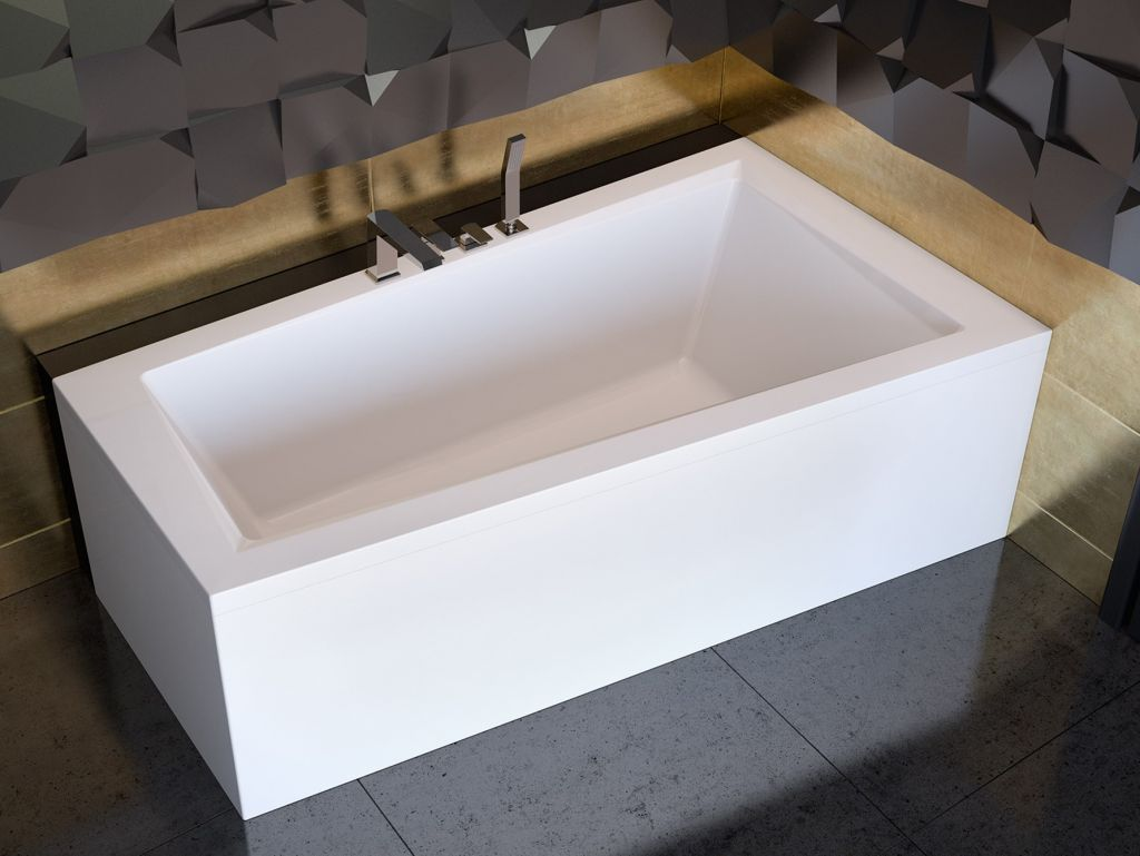 HOPA Asymetrická vana INTIMA Nožičky k vaně S nožičkami, Rozměr vany 150 × 85 cm, Způsob provedení L