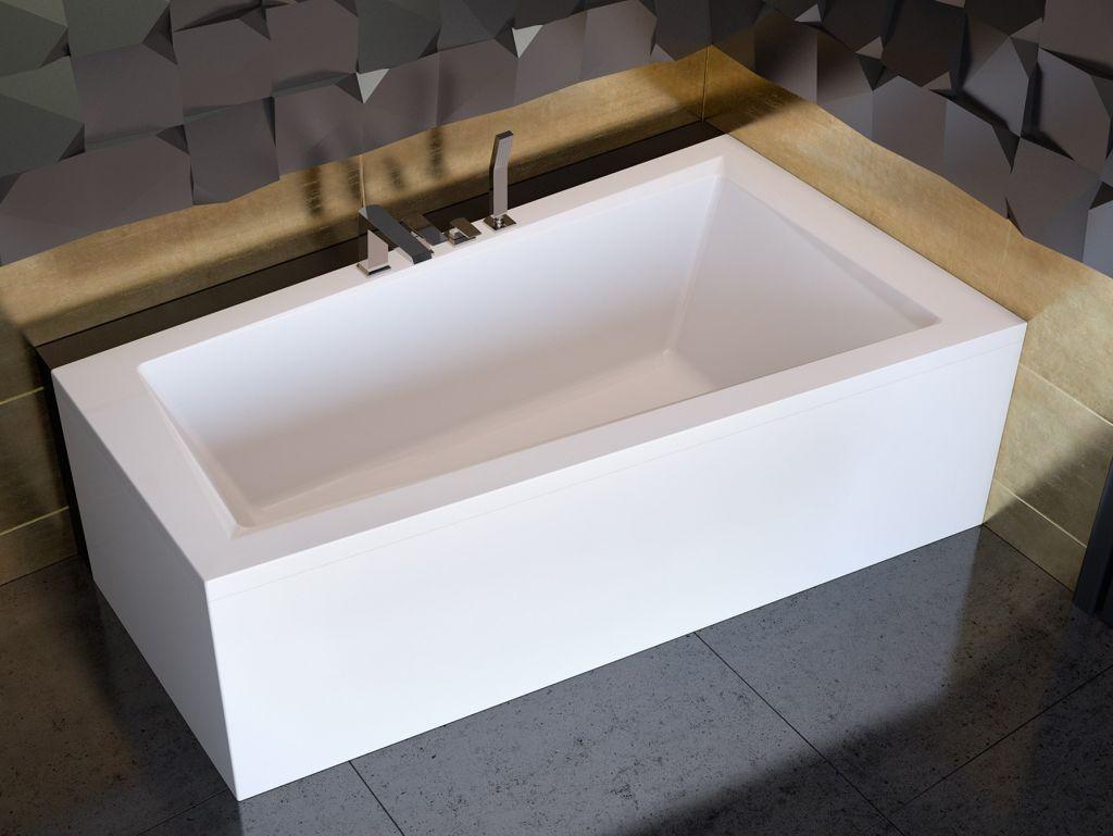 HOPA Asymetrická vana INTIMA Nožičky k vaně S nožičkami, Rozměr vany 150 × 85 cm, Způsob provedení P