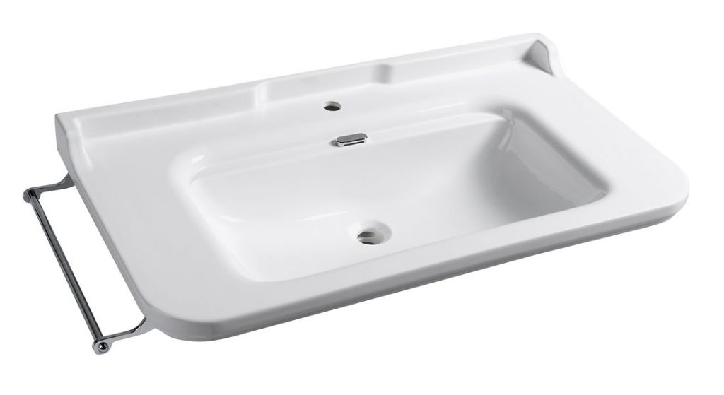 KERASAN - WALDORF keramické umyvadlo 100x55cm (4142K1)