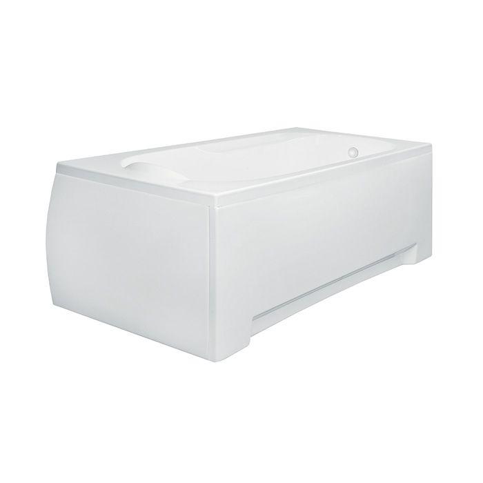 Krycí panel k akrylátové obdélníkové vaně Bari 160P (160x70x50 cm) | A-Interiéry BARI160X70P