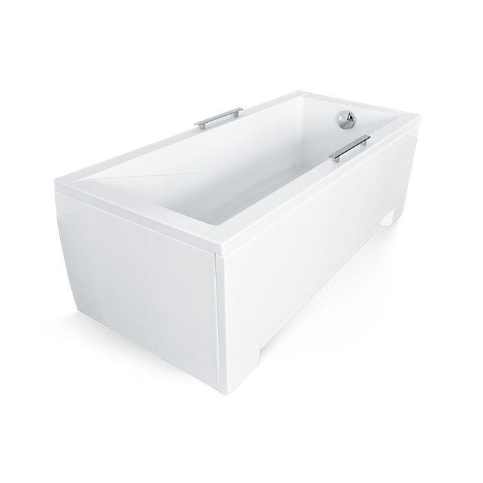 Krycí panel k akrylátové obdélníkové vaně Monaco 160P (160x70x50 cm) | A-Interiéry MONACO160X70P