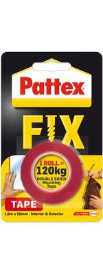 Levně HENKEL Lepící páska Pattex Power FIX 120kg (1,5m) 1486524 1486524