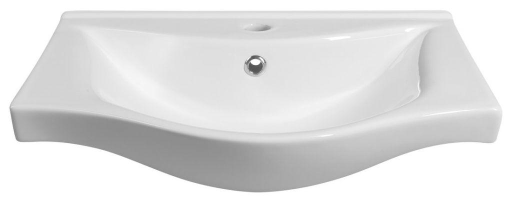 AQUALINE - ZARA 55 nábytkové umyvadlo 54x44,5cm (10055)