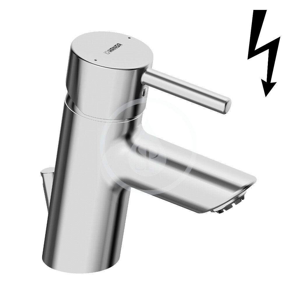 HANSA Vantis Style Páková umyvadlová baterie pro beztlaké ohřívače vody, chrom 52461177