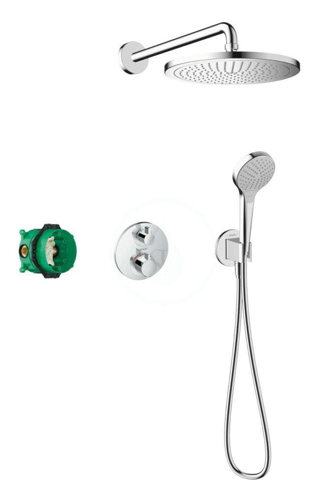 HANSGROHE Croma Sprchový set 280, s termostatem Ecostat S pod omítku, chrom 27954000