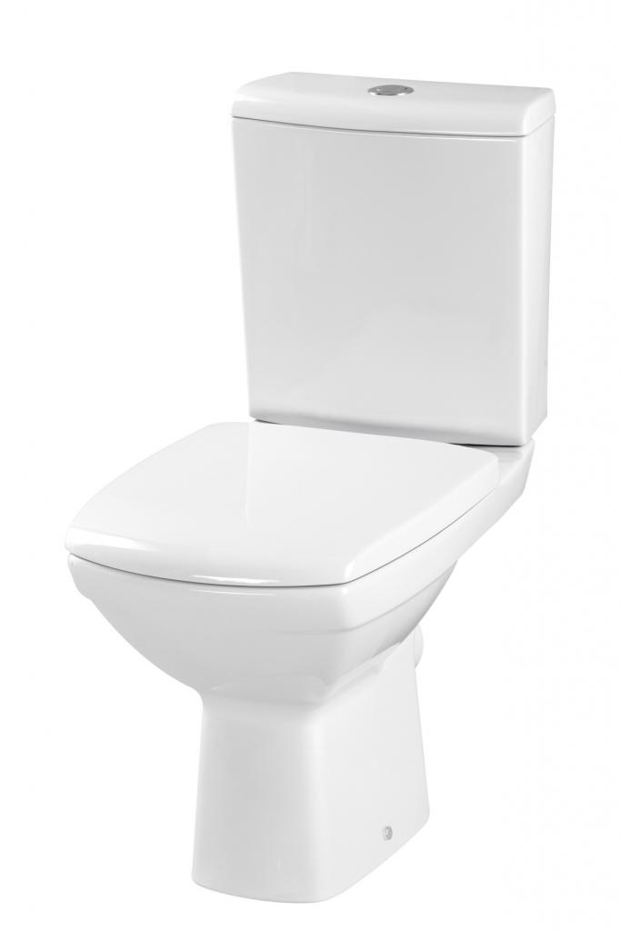CERSANIT - WC KOMBI CARINA 315 011 3/6 SEDÁTKO CARINA ANTIBACTERIAL SOFT CLOSE (K31-012) CERSANIT