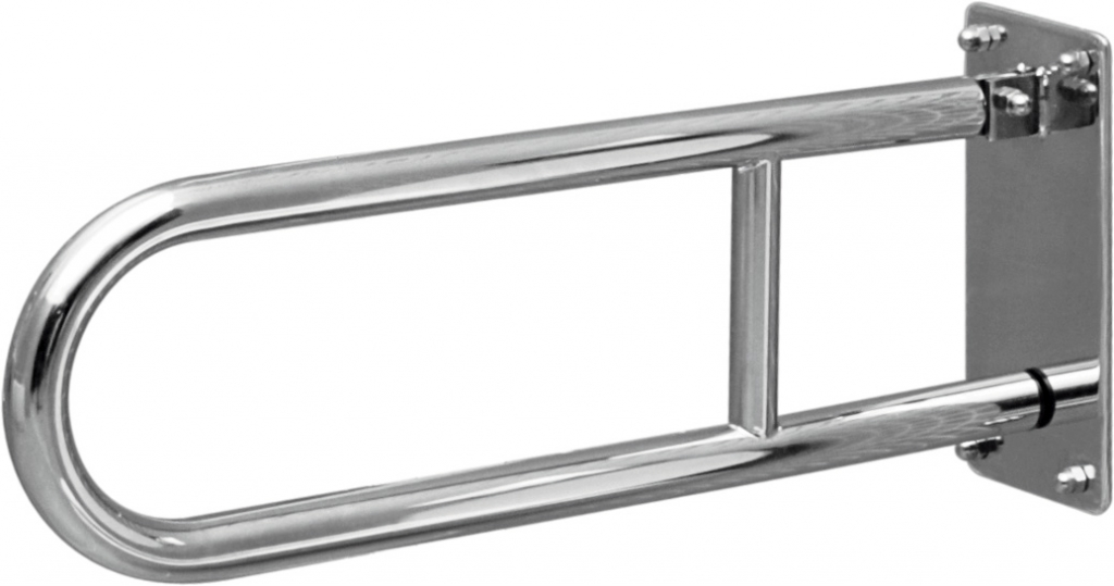 Nástěnné madlo 75 pro WC, pohyblivé  (K97-035) - CERSANIT