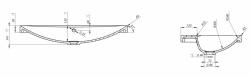 CERSANIT - Konglomerátové nábytkové umyvadlo AMAO 80 s otvorem pro baterii (K11-0113), fotografie 12/6