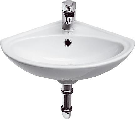 CERSANIT Rohové umývátko SIGMA 32 s přepadem K11-0013
