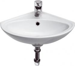 Rohové umývátko SIGMA 32 s přepadem (K11-0013) - CERSANIT