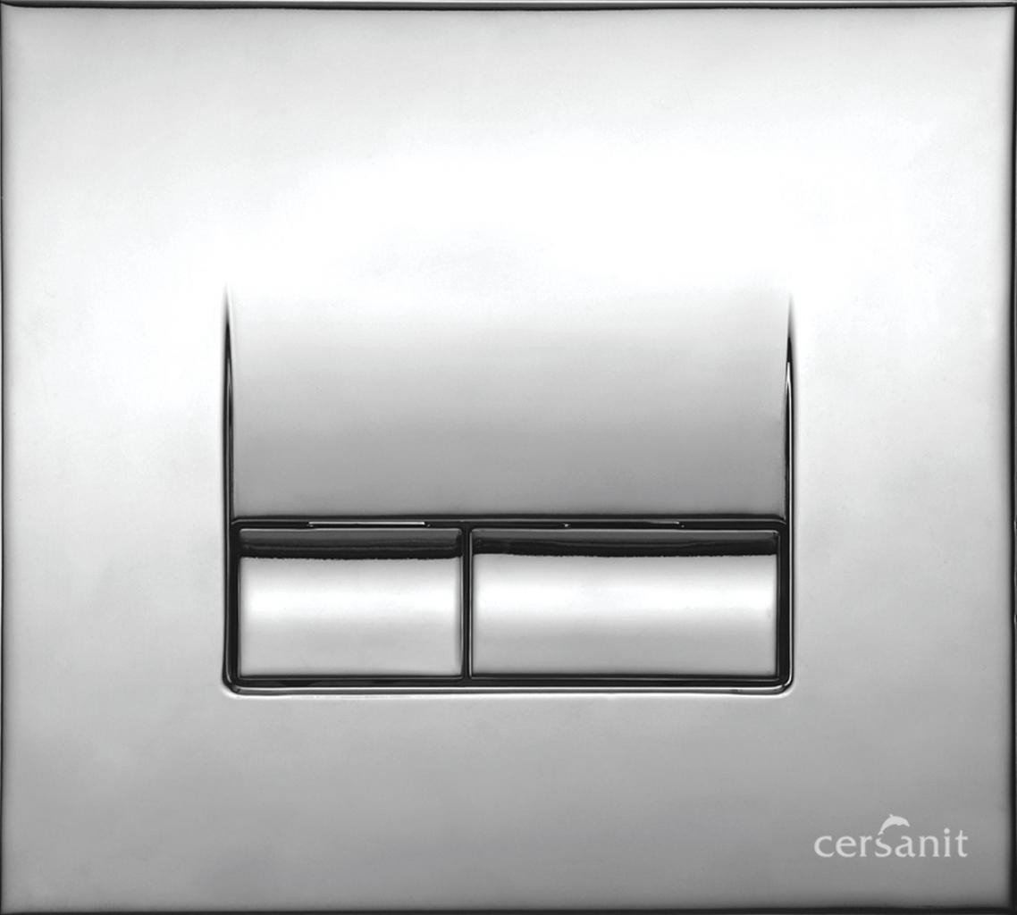 TLAČÍTKO K SYTÉMU AQUA CHROME GLOSS S-3 (K97-120) - CERSANIT