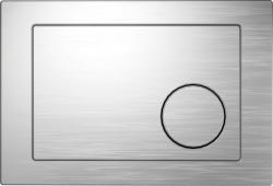 TLAČÍTKO K SYSTÉMU LINK MATNÝ CHROM, KRUH (K97-091) - CERSANIT