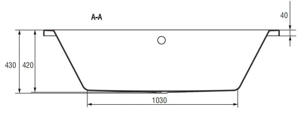 CERSANIT - VANA INTRO 160X75 cm (S301-067), fotografie 20/11