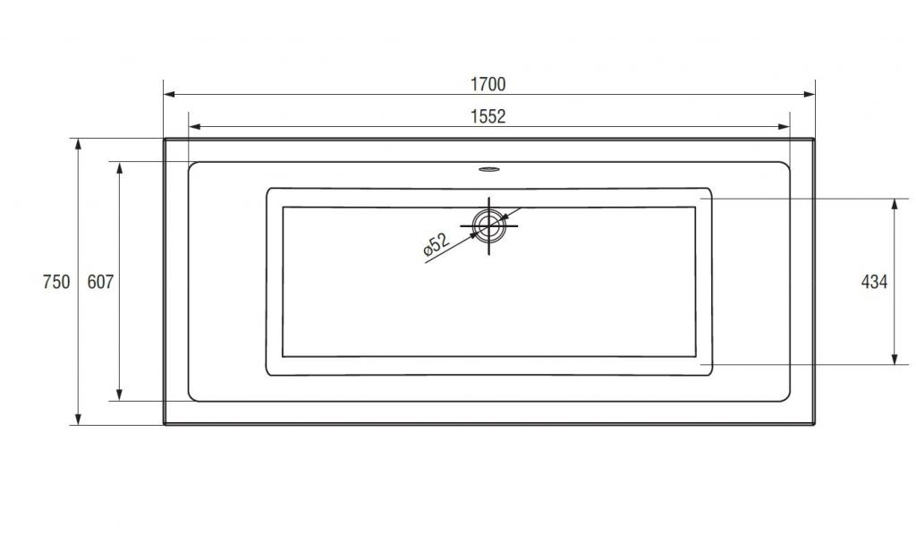 CERSANIT - VANA INTRO 170X75 cm (S301-068), fotografie 22/13