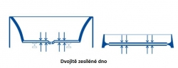 CERSANIT - VANA FLAVIA 160X70 cm (S301-106), fotografie 14/10
